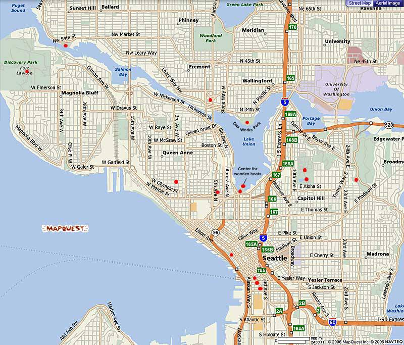 Seattle Parks Virtual Tours Mapquest Seattle Map – Seattle Washington Map Tourist